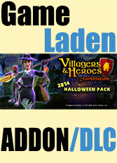 Official Villagers and Heroes: 2014 Halloween Pack (PC)