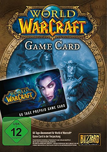 Official World of Warcraft: WoW Gamecard 60 Tage (PC/MAC/EU/Prepaid)