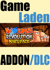 Official Worms Revolution - Mars Pack (PC)