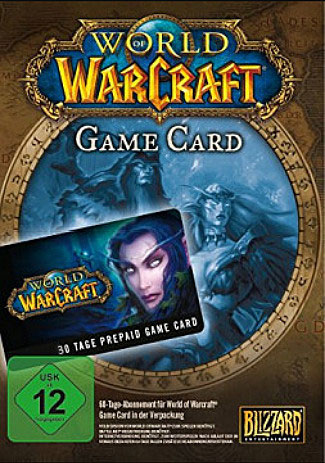 Official World of Warcraft: WoW Gamecard 30 Tage (PC/MAC/EU/Prepaid)