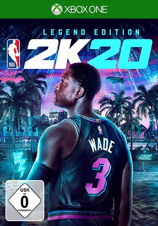 Official NBA 2K20 Legend Edition (Xbox One Download Code)