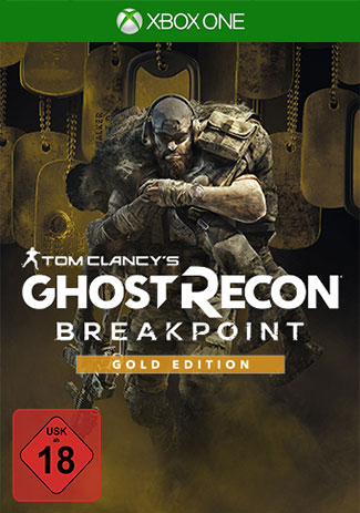 Official Tom Clancy's Ghost Recon Breakpoint Gold Edition (Xbox One Download Code)