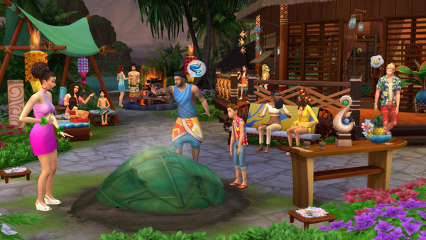 Sims 4 Island Living kaufen