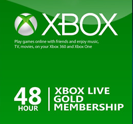 Official Xbox Live Gold 48 Hours