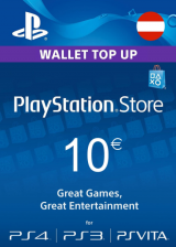 Official PSN 10 EUR (AT) - PlayStation Network Gift Card
