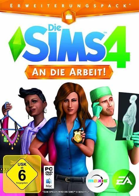 Die Sims 4 - An die Arbeit (Addon)